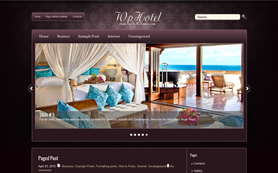 WpHotel Free WordPress Theme