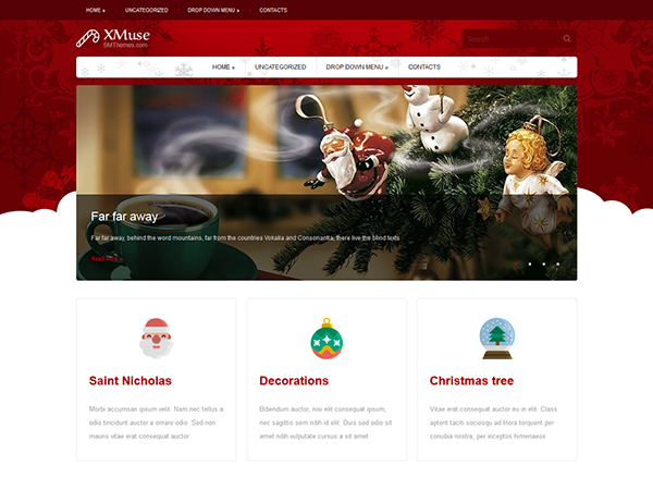 XMuse Free WordPress Theme
