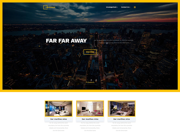 YourArea Free WordPress Theme