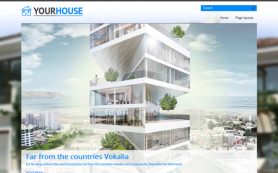 YourHouse Free WordPress Theme